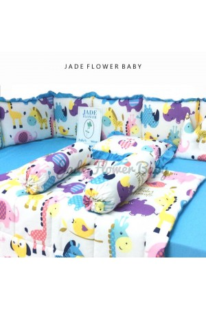Baby Bumper Set - Baby Animal