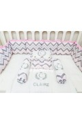 Baby Bumper Set - Claire Edition