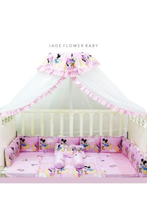 Baby Bumper Set Disney Edition - Mickey and Minnie Star