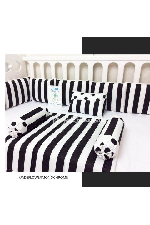 Baby Bumper Set - Monochrome Edition