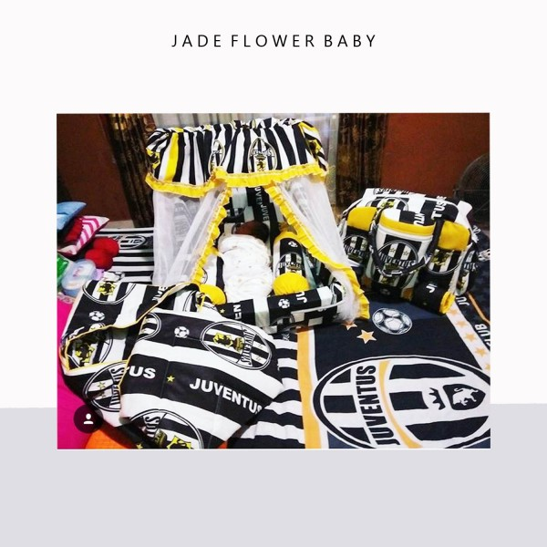 Juventus Set, from Jade Flower Baby Football Edition. Thank you @umu_thoyyibah95