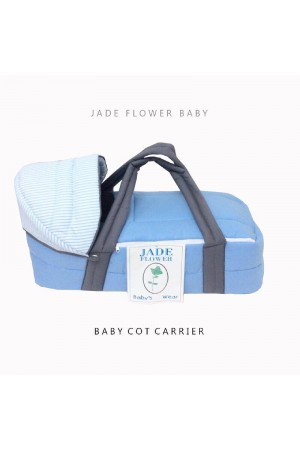 Baby Cot Carrier - Moses Basket - Blue